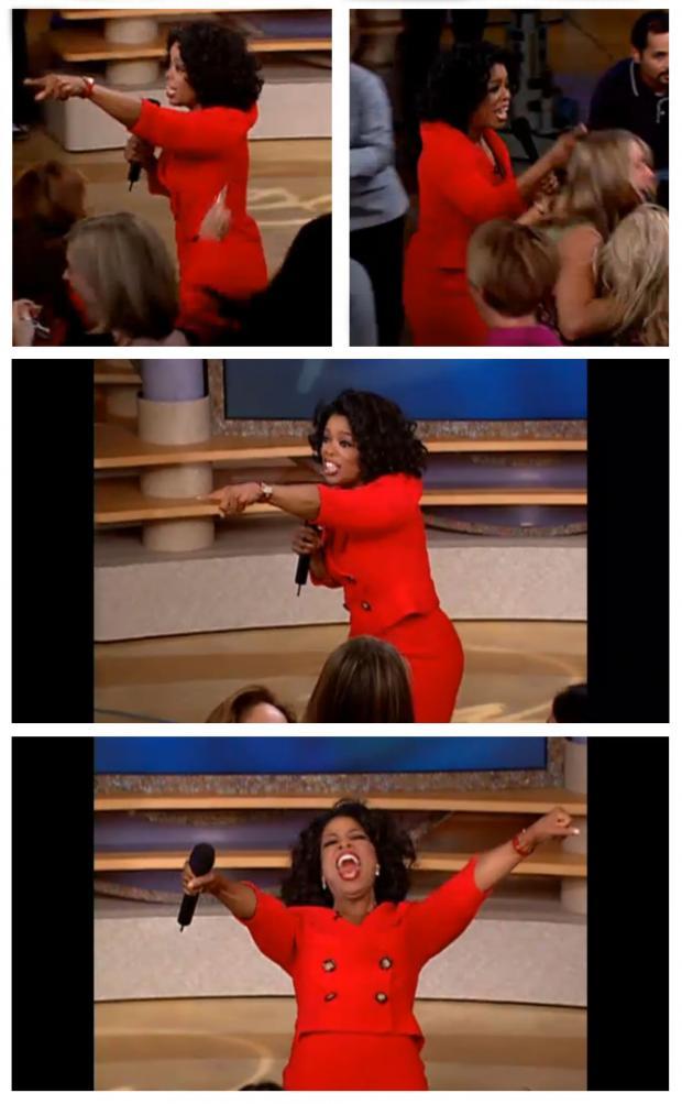 Oprah Meme Generator : oprah, generator, Oprah, Everybody, Generator, Imgflip
