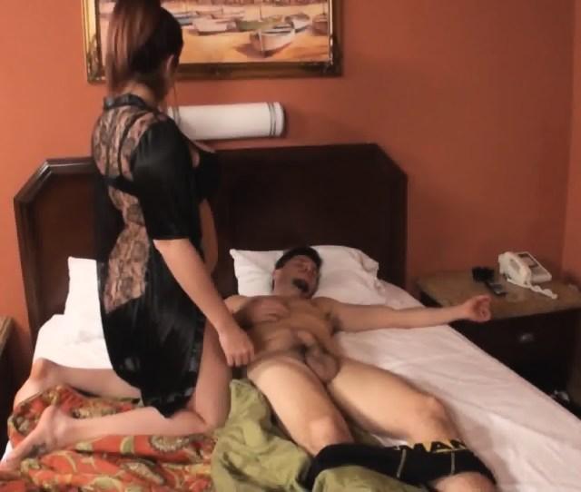 Woman Fucking A Sleeping Man Scene 3