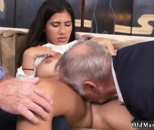 Old Young Creampie And Petite Threesome First Time Going South Of The Border Scene 4