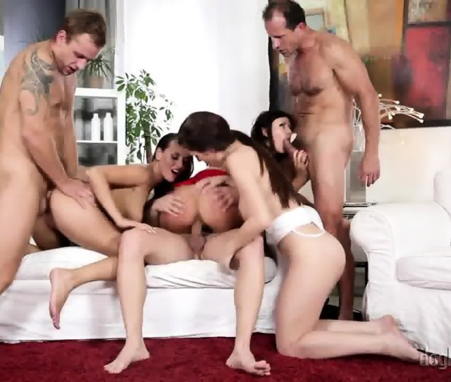 Group Sex With Three Hot Ladies Scene 7