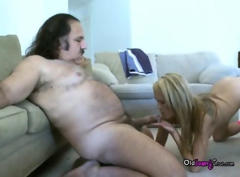 Teen Aidan Is Hot For Old Porn Star Ron Jeremy Sucking His Big Dick Scene