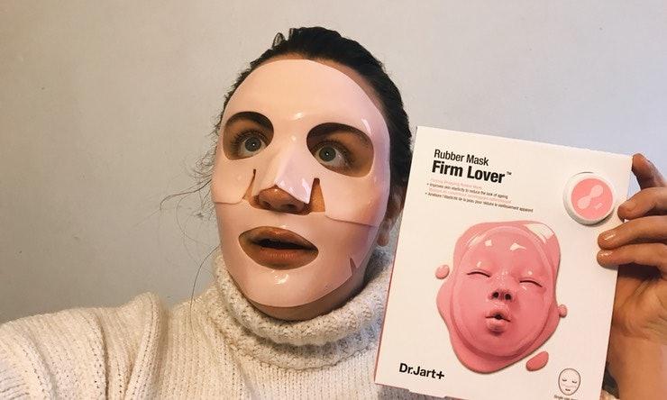 9 weird face masks