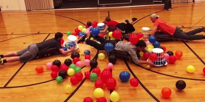 Human Hungry Hungry Hippos Looks Like The Most Fun Game