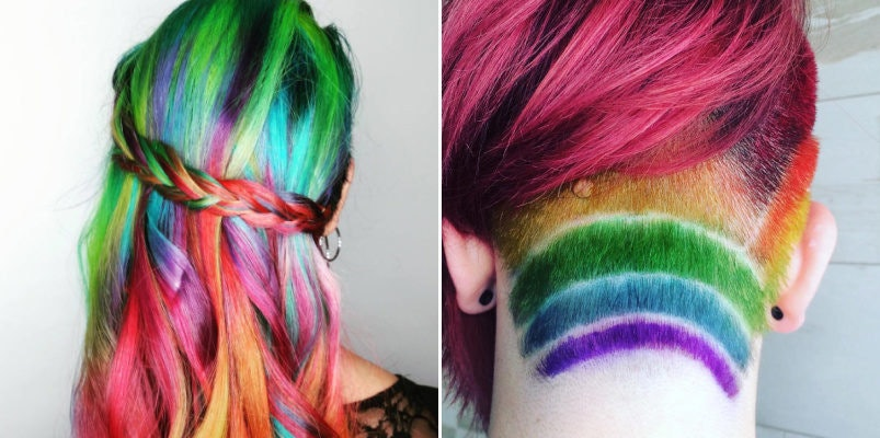 people dyeing hair gorgeous