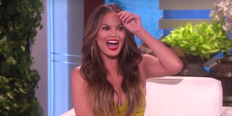 Chrissy Teigen S Been Opening Rihanna S Mail And Had No