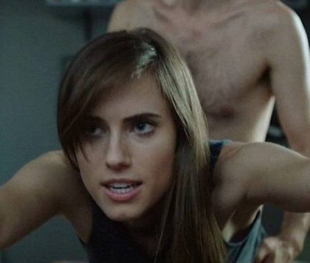 Allison Williams Had A Weird X Rated Sex Scene In Girls