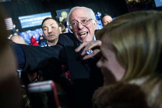 What Levi Sanders Has To Say About His Dad Sums Up Bernie