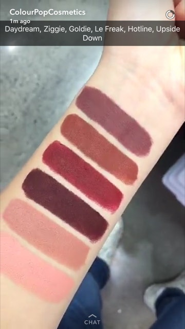 Colourpop Goldie : colourpop, goldie, What's, ColourPop's, Kits?, These, Beauties, Diverse, Perfect