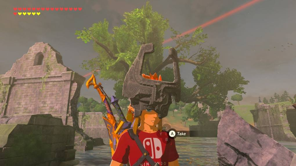 Zelda: Breath of the Wild Midna's Helmet: Regencia river location and how to find it in the new DLC