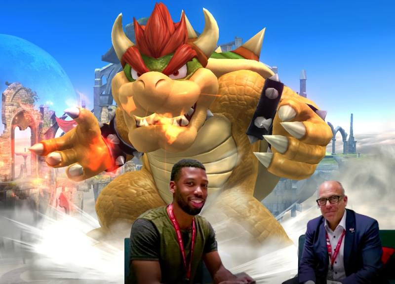 i fought bowser in