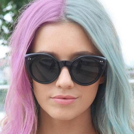 15 Half And Half Hair Dye Ideas That Ll Inspire You To Try The