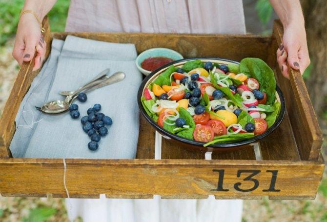 21 vegetarian graduation party