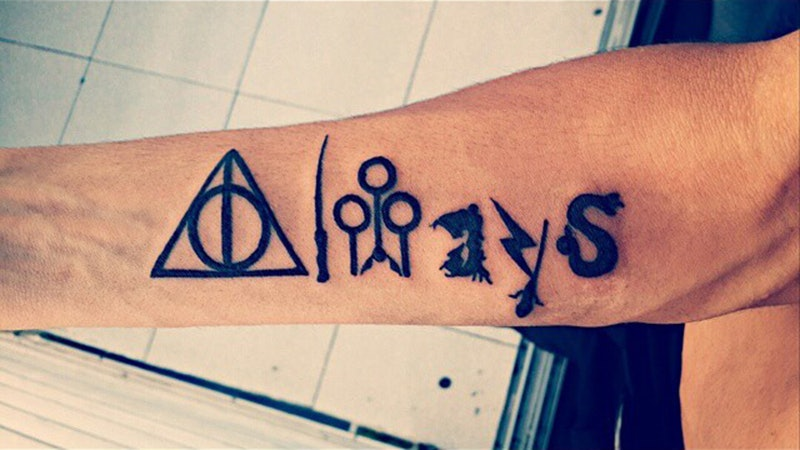Simple Harry Potter Tattoo Designs