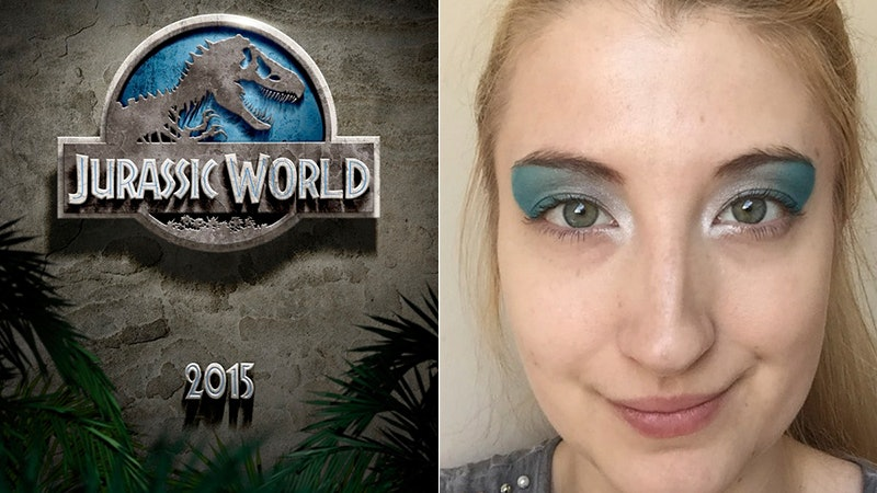 Jurassic World Inspired Makeup Looks