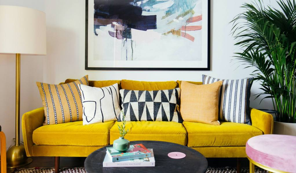 Article Furniture Is On Sale Including A Pretty Velvet Sofa Under 900