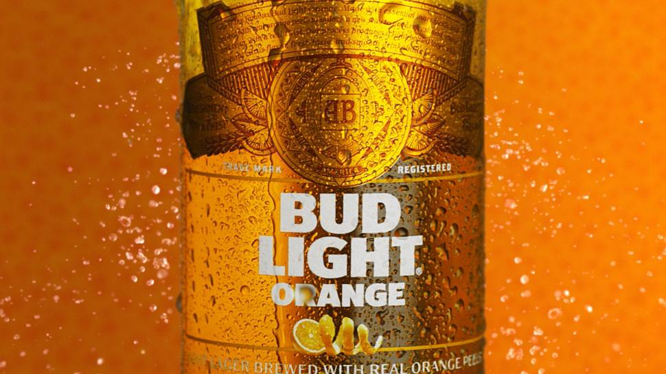 bud light orange beer