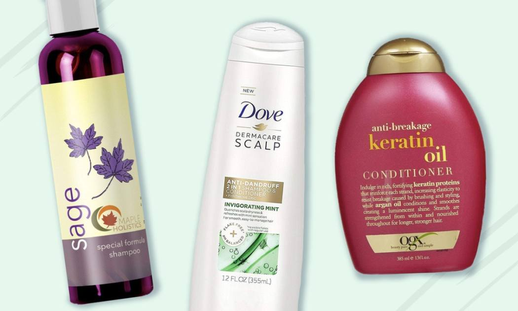 6 shampoos and conditioners