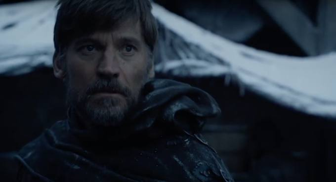jaime lannister's new hair in the 'game of thrones' season 8