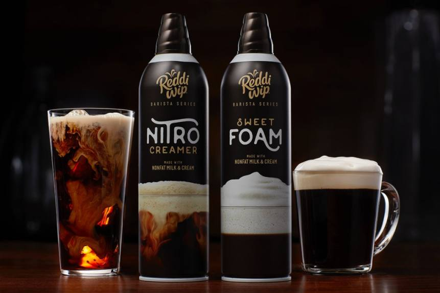 These New Reddi Wip Barista Sweet Foam Amp Nitro Creamer Products Will Up Your Coffee Game