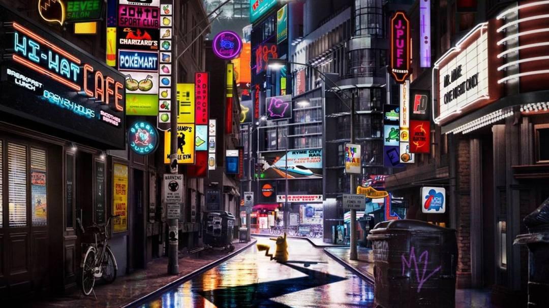 Risultati immagini per detective pikachu ryme city