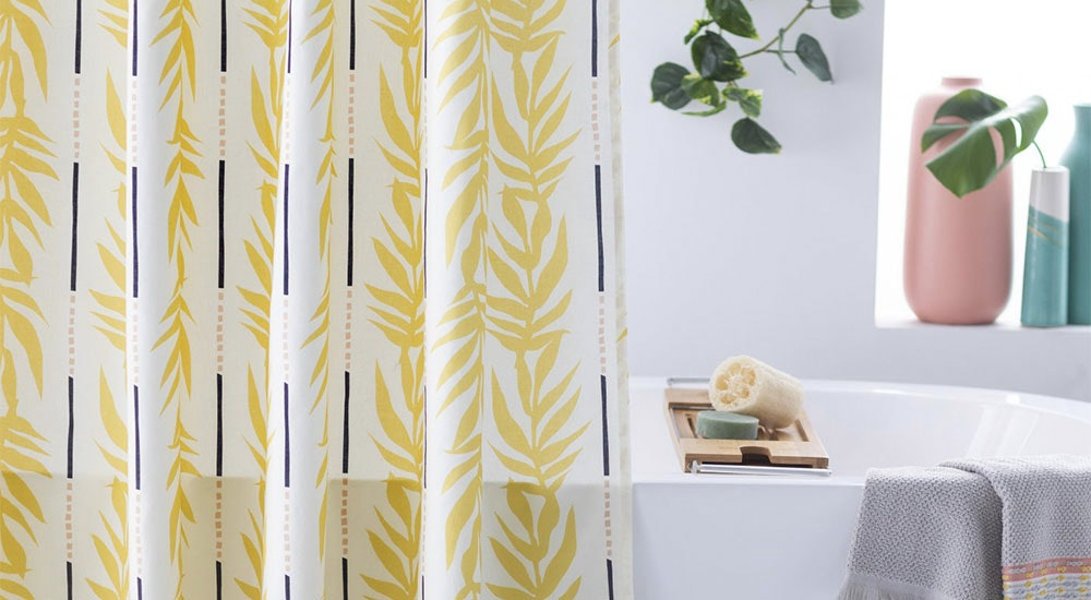 this 10 ikea shower curtain will totally transform your bathroom