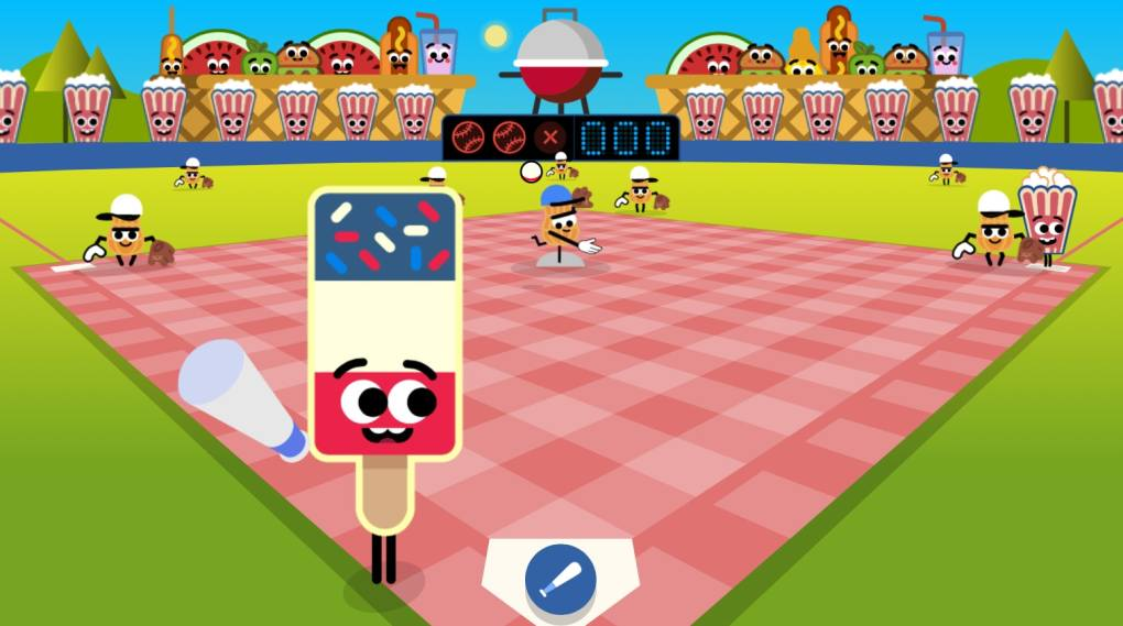 The Google Doodle For July 3 Is A Ballpark Food Baseball
