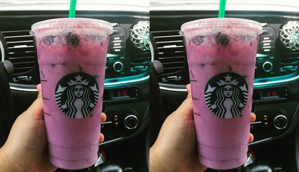 order starbucks purple drink from