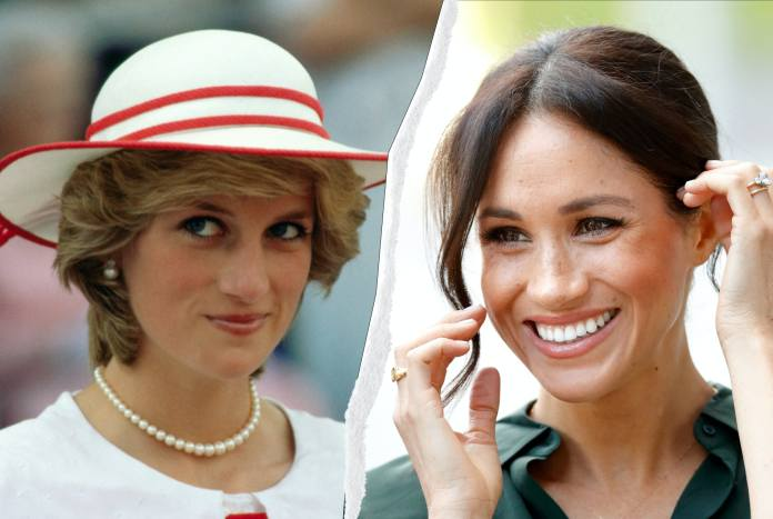 Meghan Markle Wore Princess Diana's Watch In Her Portrait