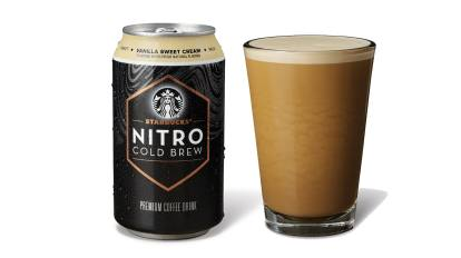 Starbucks' Nitro Cold Brew Now Comes In Ready-To-Drink Cans
