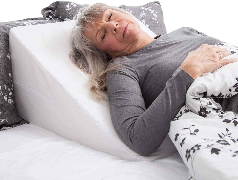 memory foam wedge pillow sleep