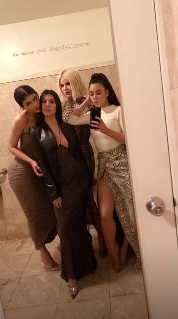 kim kardashian's green hair