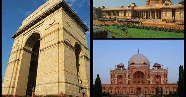 Delhi Architecture List of Famous Delhi Buildings and