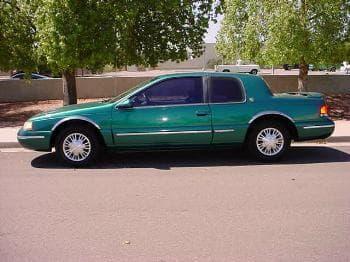 List Of All 1996 Mercury Cars