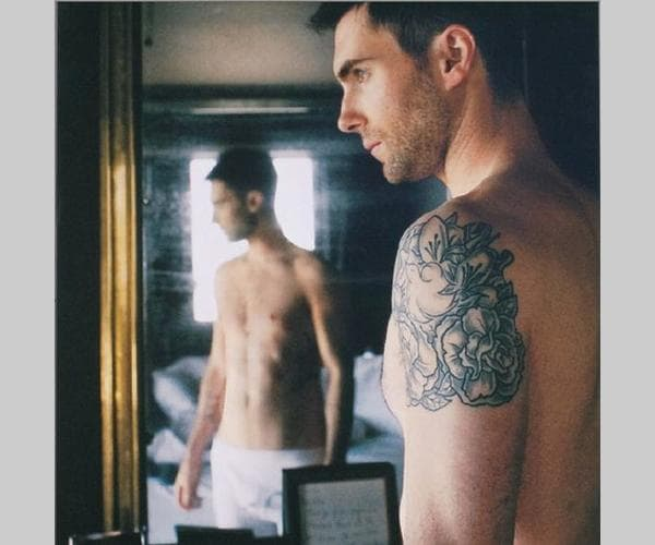 Adam Levine Anne Tattoo
