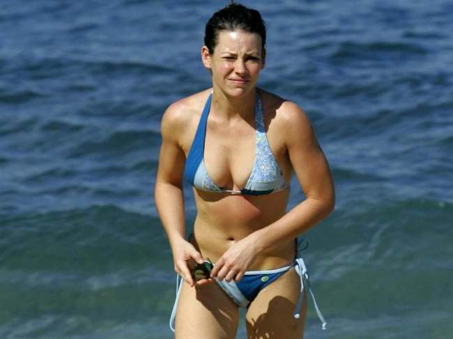 Sexy Evangeline Lilly Photos Near Nude Evangeline Lilly