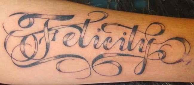 Stylish Riya Name Tattoo In Hand