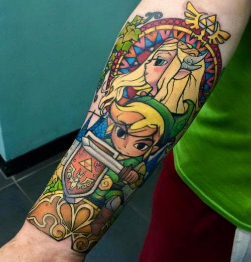 26 Awesome Zelda Tattoos That Are Too Epic For Words