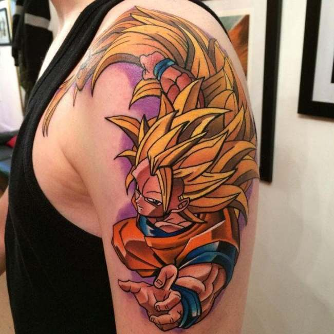 Dragon Ball Tattoo Goku