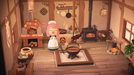 kitchen medieval crossing animal room designs skyrim ironwood animalcrossing acnh trying usual instead coolest seen ve horizons list reddit orchard