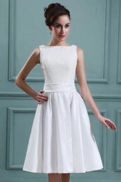 Billige Schöne Kurze Brautkleid 2016 Online Sale