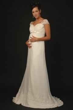 Schöne Modische Brautkleider Für Schwangere Güstig Online Kaufen