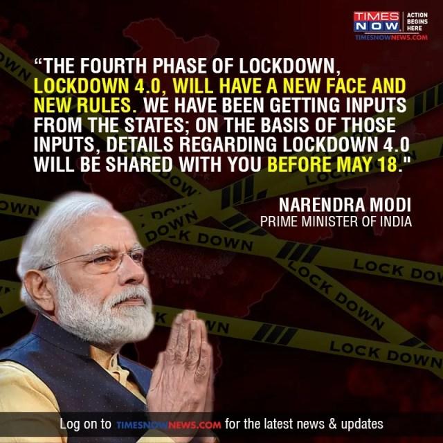 Lockdown in India: .