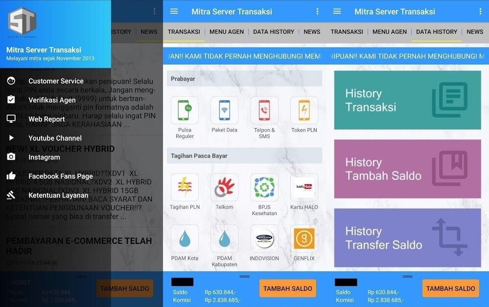 APK Transaksi Pulsaku Mobile Partner