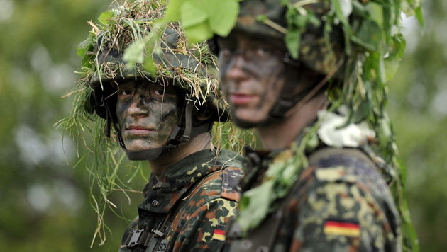 Islamisten unterwandern deutsche Bundeswehr (Bild: dapd)