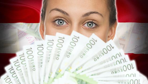 So viel verdient Österreich (Bild: thinkstockphotos.de, krone.at-Grafik)