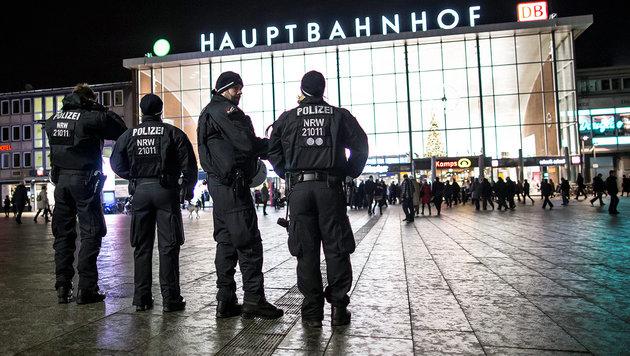 In Köln kam es in der Silvesternacht zu zahlreichen sexuellen Übergriffen. (Bild: APA/dpa/Maja Hitij)