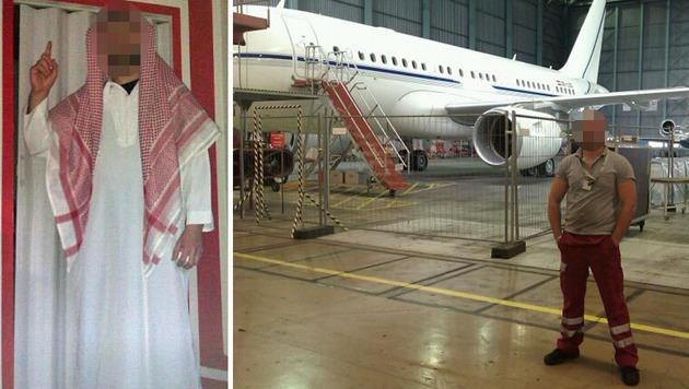 Entwarnung nach IS-Verdacht auf Flughafen Wien (Bild: facebook.com)