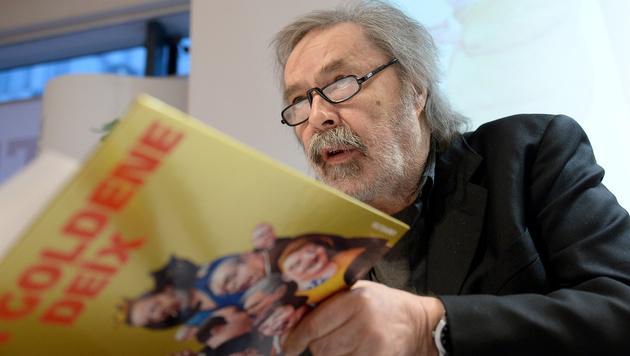 """Trauer um Manfred Deix: """"Spitze Feder wird fehlen"""" (Bild: APA/ROLAND SCHLAGER)"""