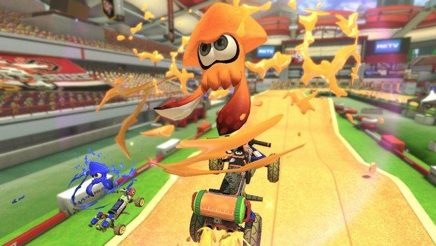 """""""Mario Kart 8 Deluxe"""": Die neue Fun-Racer-Referenz (Bild: Nintendo)"""