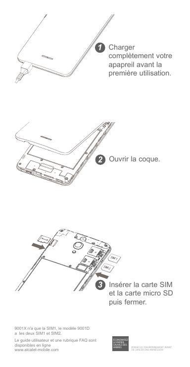 Mode Demploi Alcatel One Touch Pixi